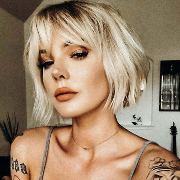 best short hair styles 2021
