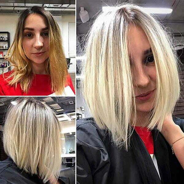 bob cut hair short