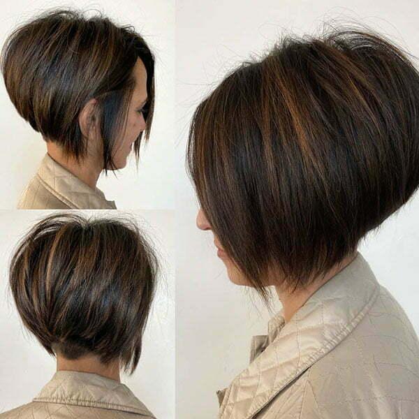 bob hair cut for ladies