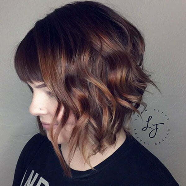 bob haircut short