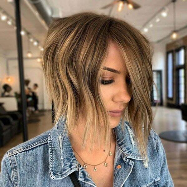 bob short hair 2021