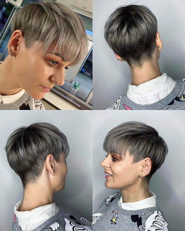 latest short hair style 2021