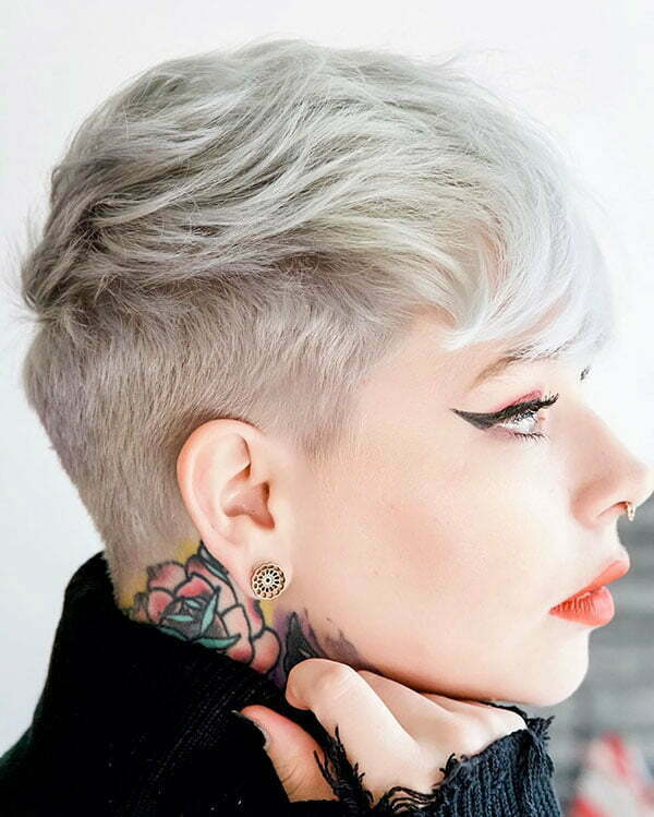 pictures of pixie cuts
