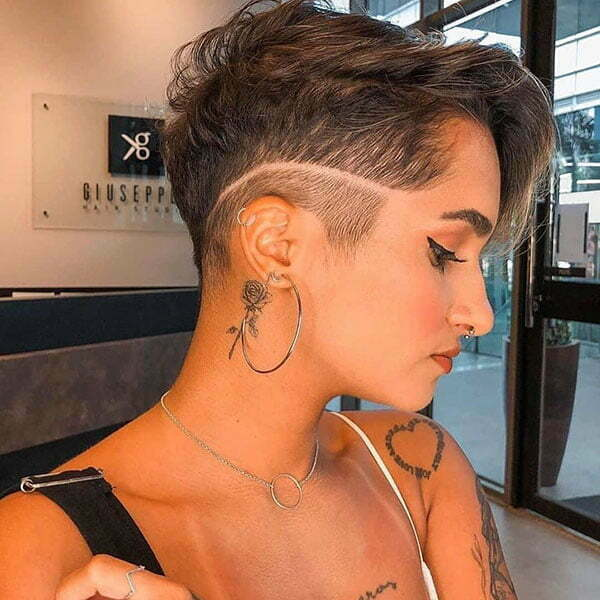 pixie cut 2021