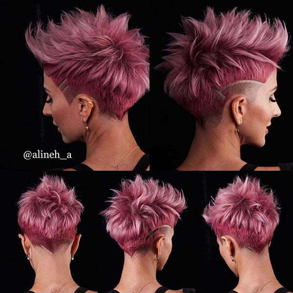 pixie haircut for ladies