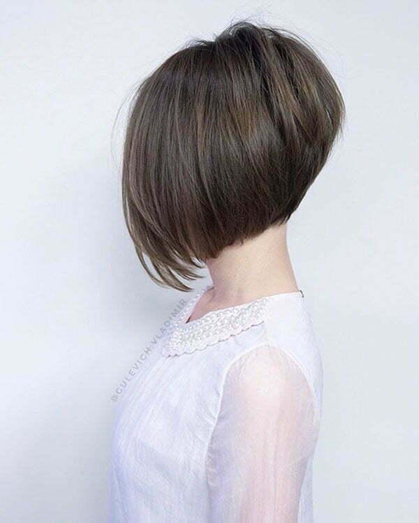 short hair cut bob style