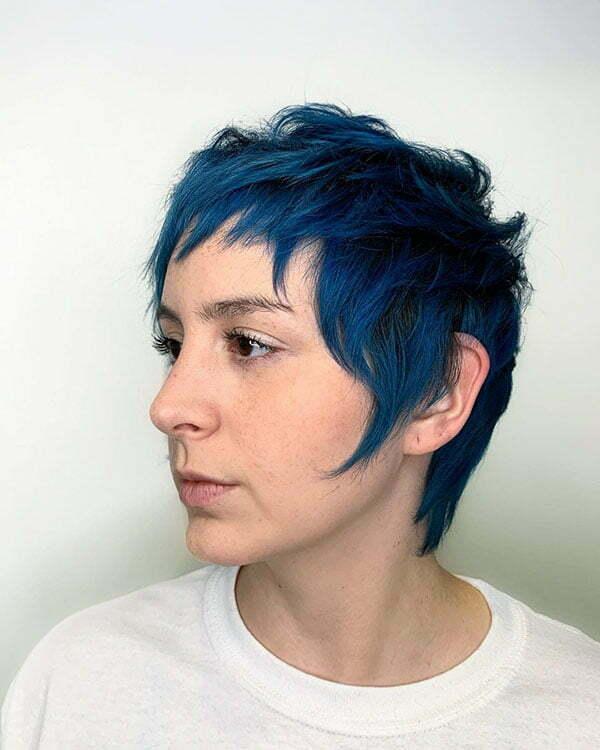short hair images 2021