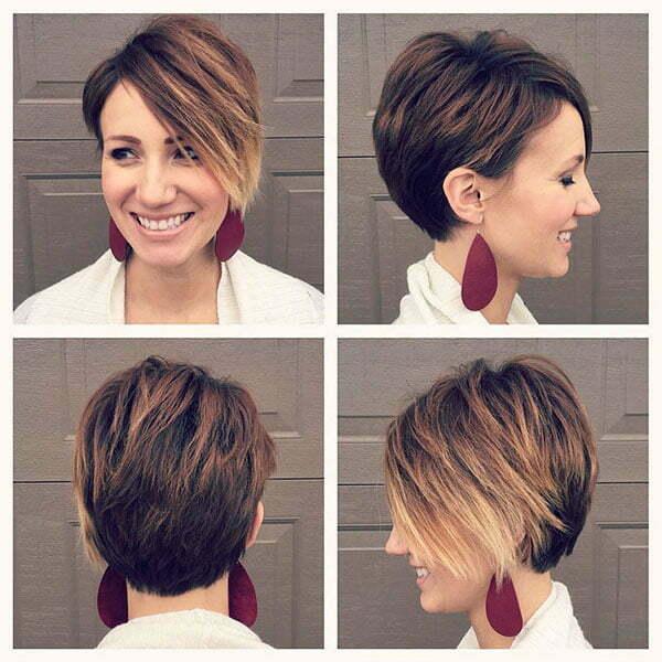 short hair latest style