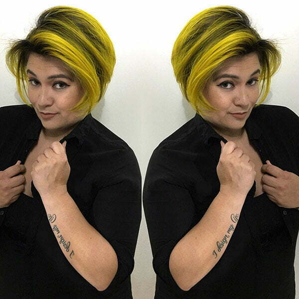 short hair style for woman 2021