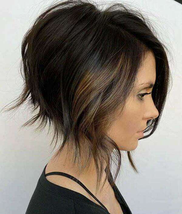 short hair styles bobs