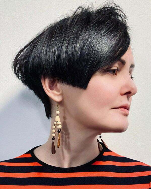 short haircut styles 2021