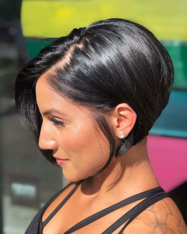 short hairstyles 2021 for ladies