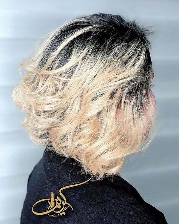 short mullet haircut woman