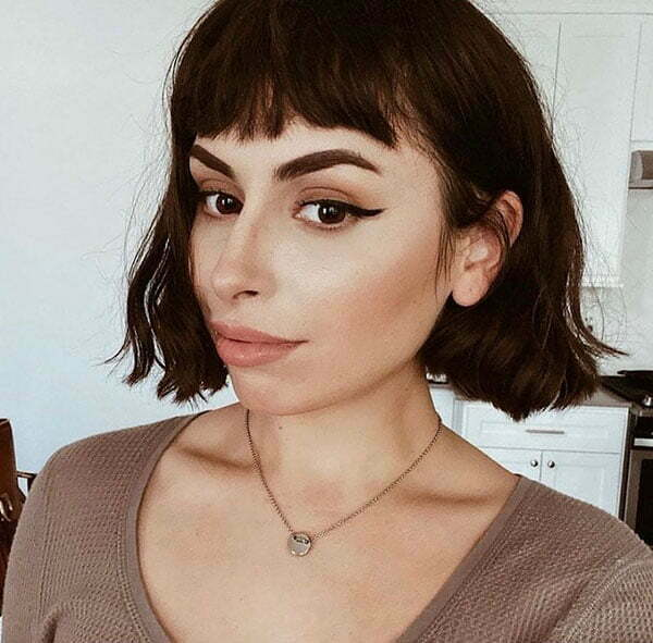 short trendy haircuts for 2021