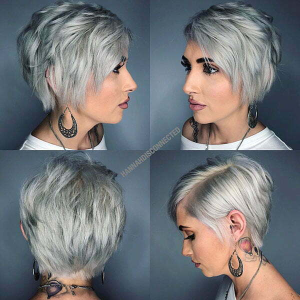 trendy short hair 2021