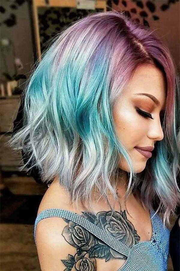 2020 wavy hairstyles