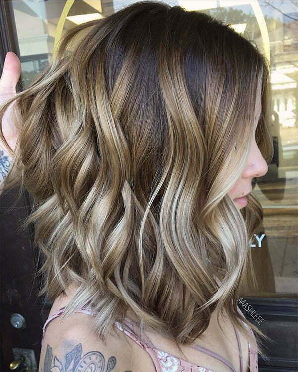 2021 wavy hairstyles