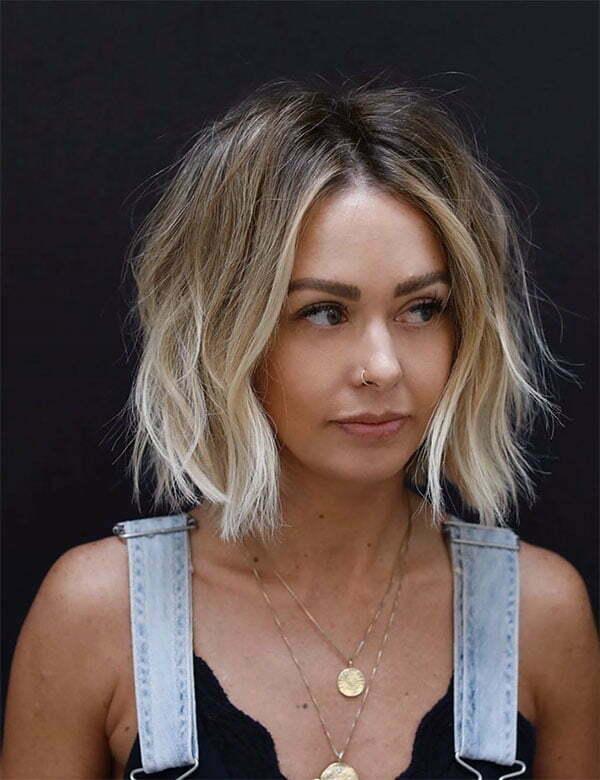 beautiful blonde hair woman