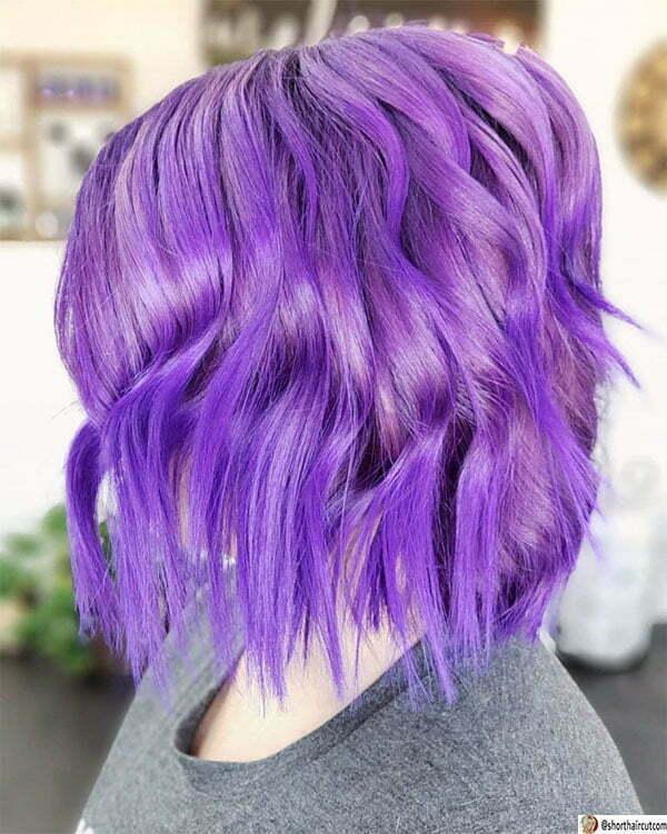 beautiful purple women