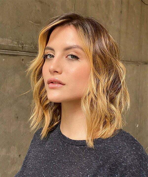beautiful wavy hair