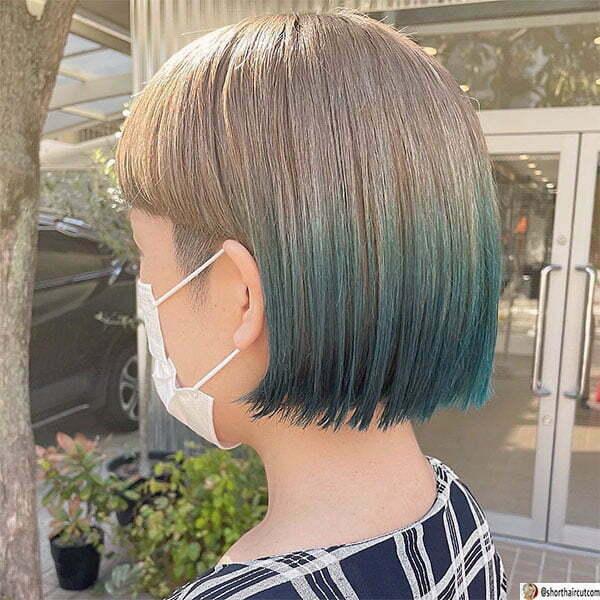 best blue hairstyles