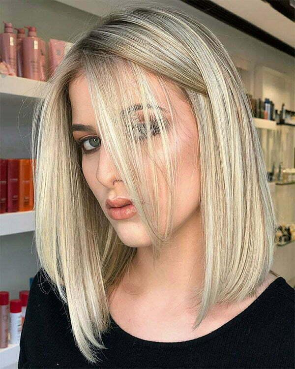 best hair style for straight hair