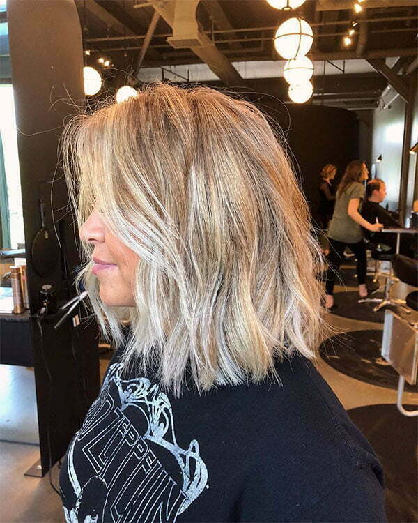 best short blonde haircuts