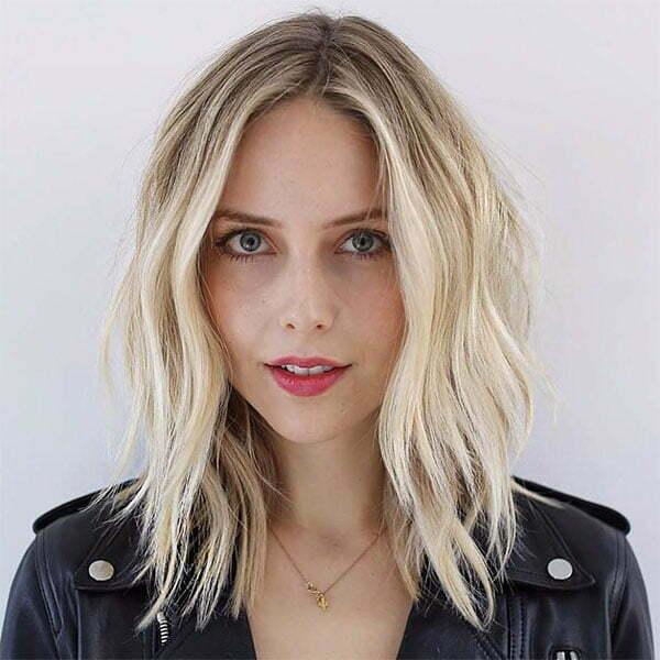 blond hair cut short
