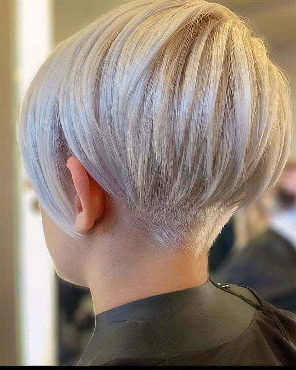 blond short haircuts