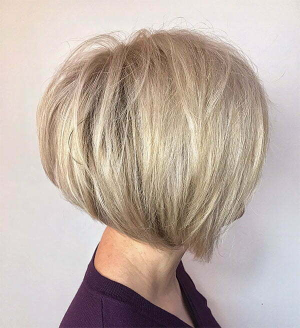blonde hair colors short styles