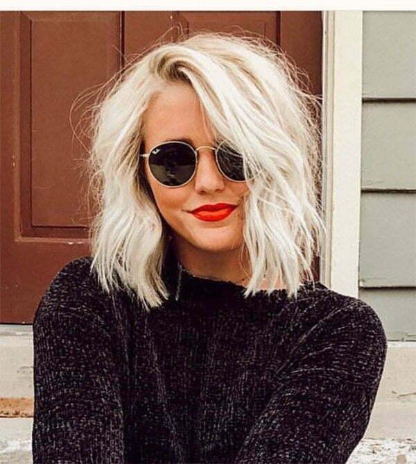 blonde hair ideas short