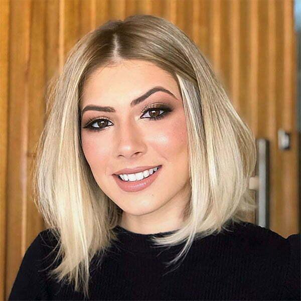 blonde hair short cuts