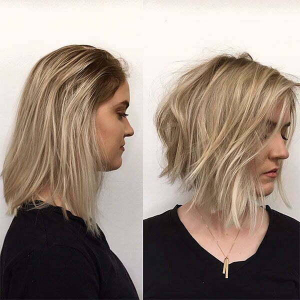 blonde short hair color ideas