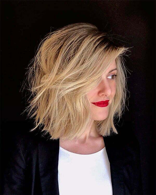 blonde short hair pics