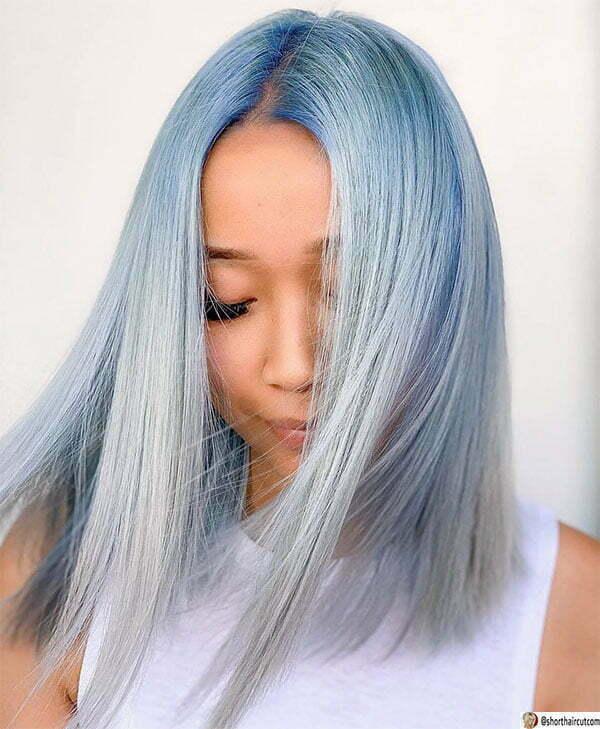 blue hair ideas with color