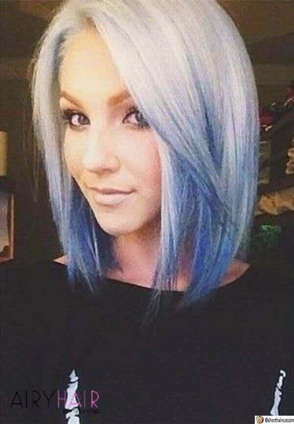 cool blue hair ideas
