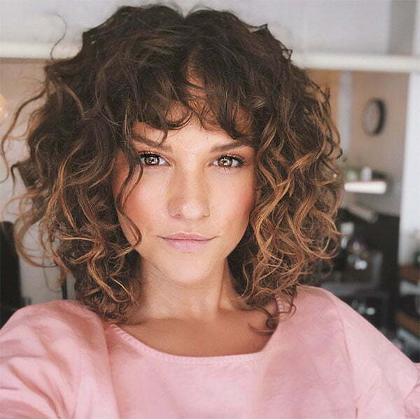 cool curly hair