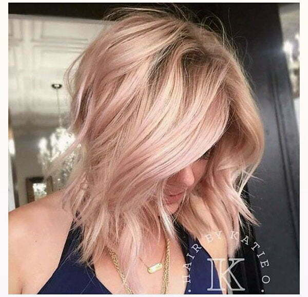 cool pink hairstyles