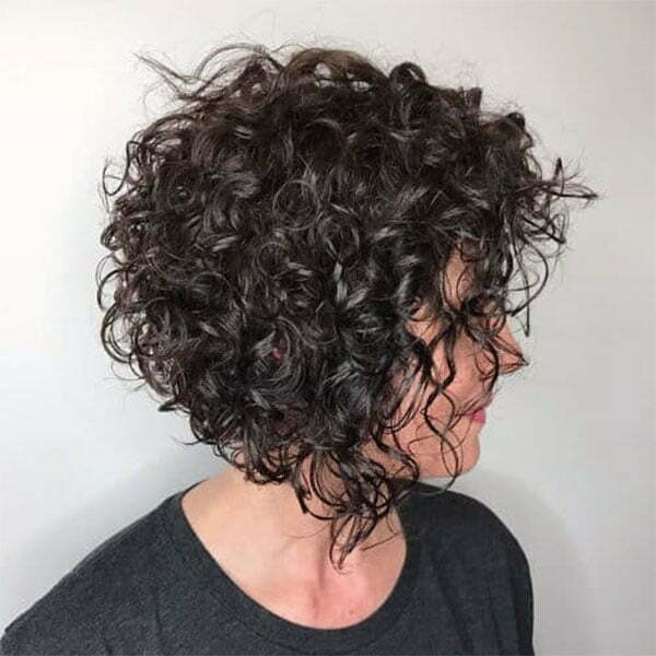 cool short curly haircuts