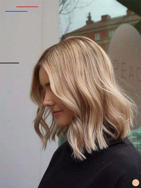 cute blonde short hair