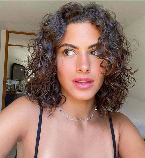cute curly hair styles