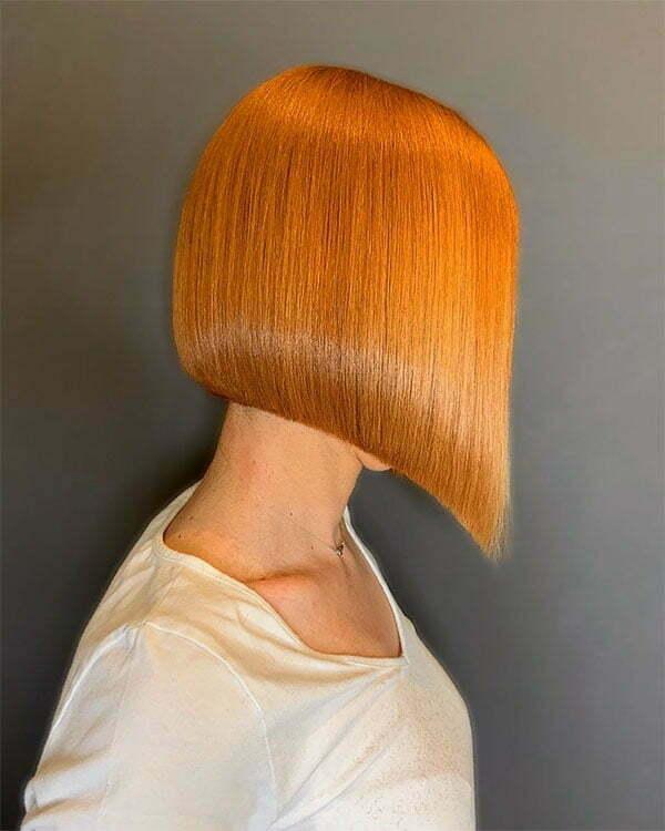 cute hairstyles 2021 for short straight hair
