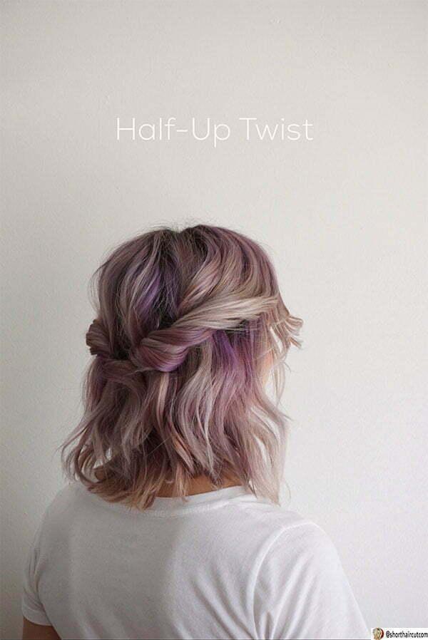 cute purple hair ideas