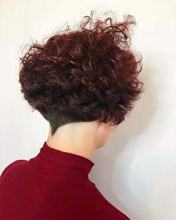 cute short curly cuts