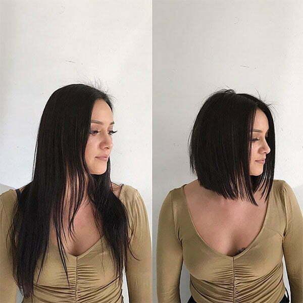 cute short haircuts for straight hair