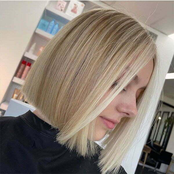 cute straight hairstyles 2021