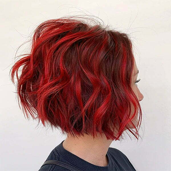 date red hair color