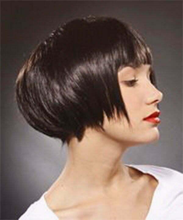 elegant straight hairstyles