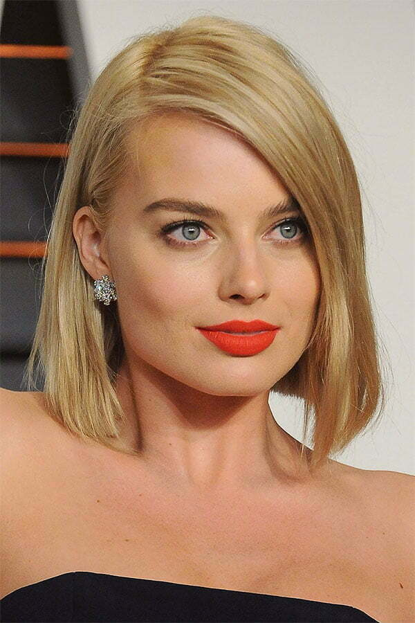 famous women with short blonde hair