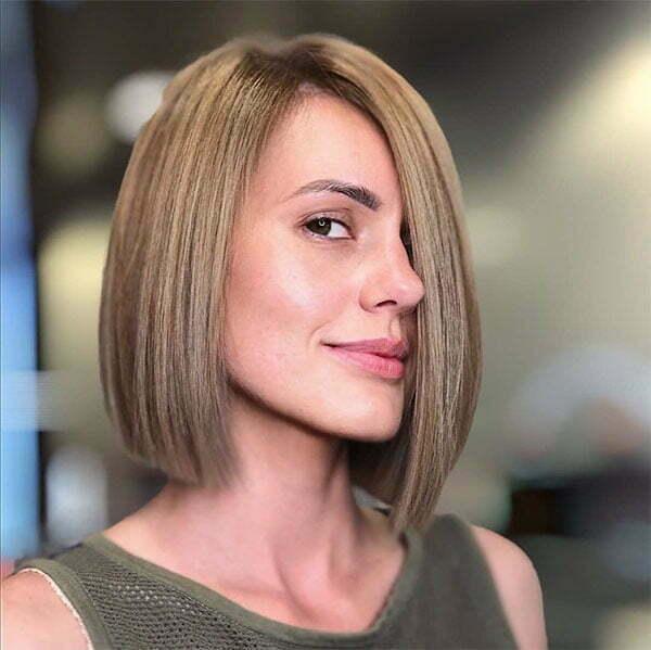 female hair cut style